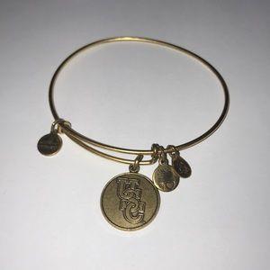 Alex & Ani Gold USC Bracelet